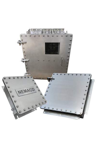 Customize Nemaco Stainless Steel NEMA enclosures and cabinets